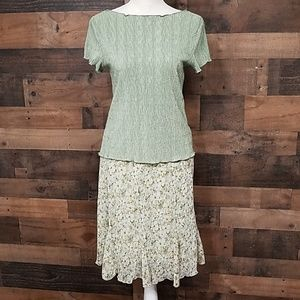 Connected Apparel 2pc outfit Size small